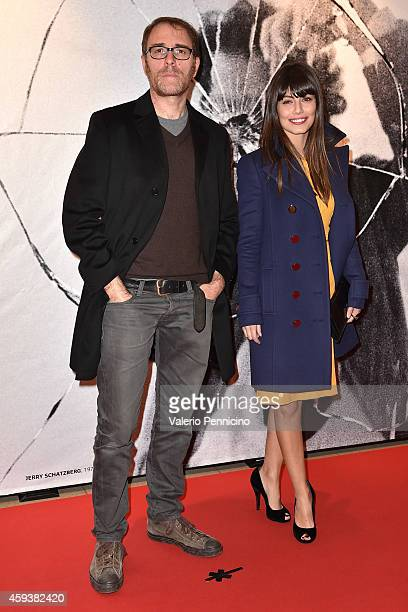 Valerio Mastandrea and Alessandra Mastronardi attend the 32th Turin Film Festival Opening Night on November 21 2014 in Turin Italy