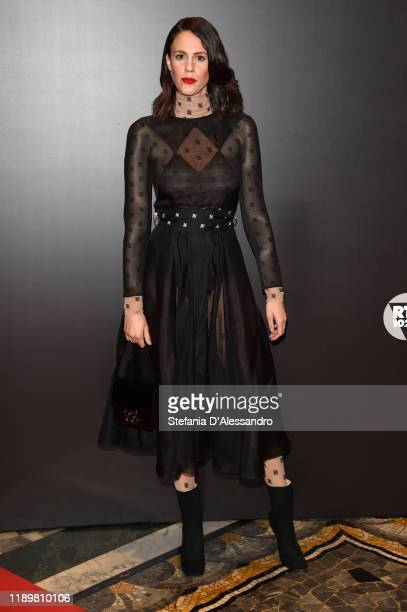 Valerio Mastandrea attends the Vanity Fair Stories 2019 Awards Photocall at The Space Cinema Odeon on November 23 2019 in Milan Italy
