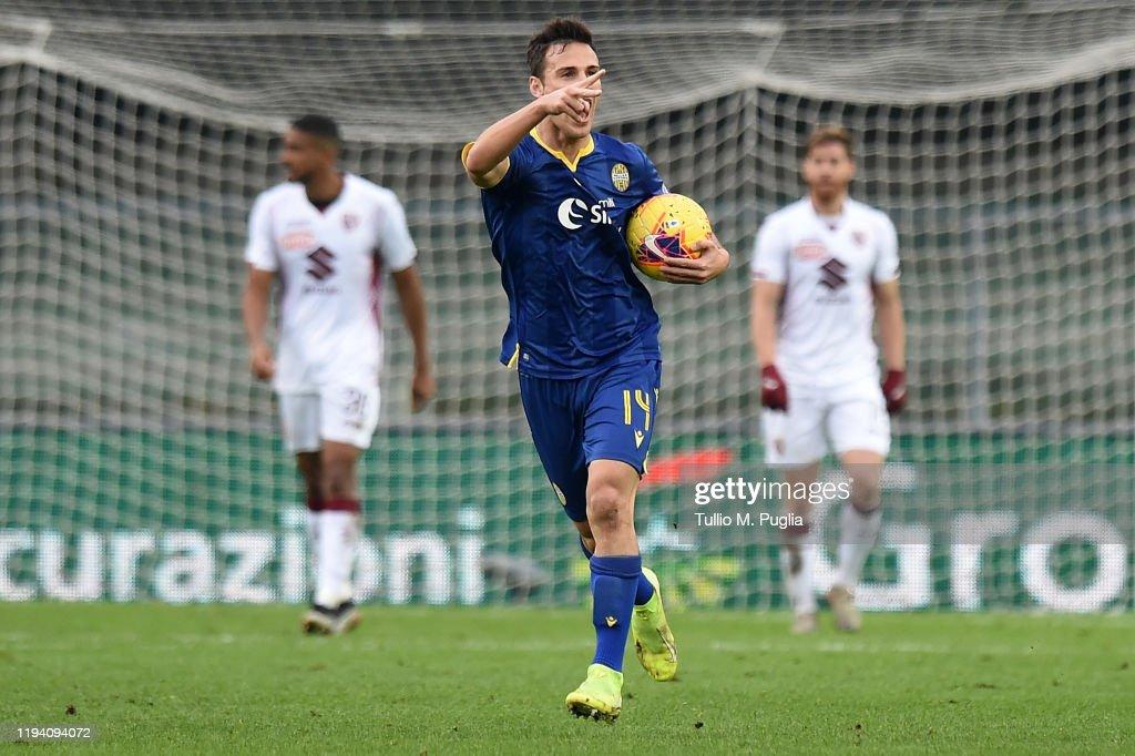 Hellas Verona v Torino FC - Serie A : News Photo