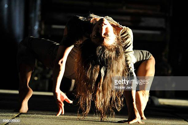 Valery Doucet in James Thierree/Compagnie du Hanneton's production The Toad That Knew at the Kings Theatre the production is part of the Edinburgh...