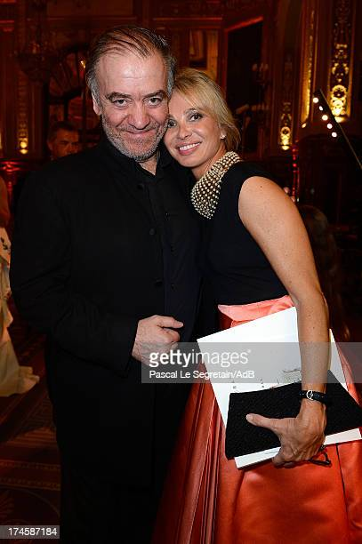 Valery Gergiev and Corinna zu Sayn-Wittgenstein attend the dinner at 'Love Ball' hosted by Natalia Vodianova in support of The Naked Heart Foundation...