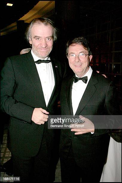 Valery Gergiev and Gerard Mortier at Romeo And Juliet Gala Performance At L'Opera Bastille In Aid Of L'Arop