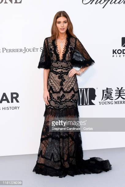 Valery Kaufman attends the amfAR Cannes Gala 2019>> at Hotel du CapEdenRoc on May 23 2019 in Cap d'Antibes France