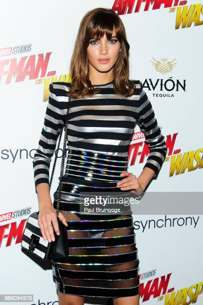 Valery Kaufman attends The Cinema Society With Synchrony And Avion Host A Screening Of Marvel Studios' 'AntMan And The Wasp' at The Museum of Modern...