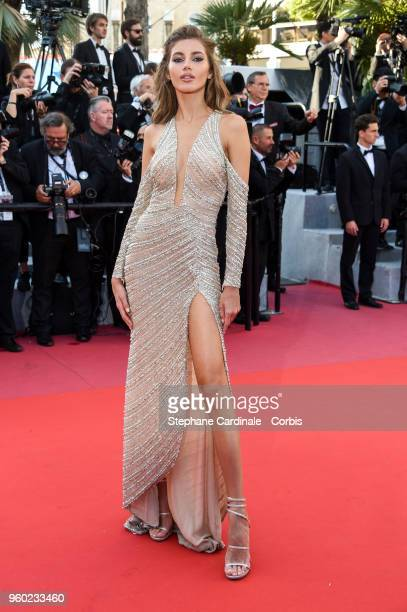 Valery Kaufman attends the Closing Ceremony and the screening of 'The Man Who Killed Don Quixote' during the 71st annual Cannes Film Festival at...
