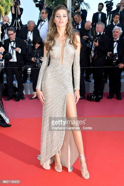 Valery Kaufman attends the Closing Ceremony screening of The Man Who Killed Don Quixote during the 71st annual Cannes Film Festival at Palais des...