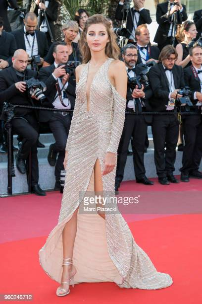 Valery Kaufman attends the Closing Ceremony screening of 'The Man Who Killed Don Quixote' during the 71st annual Cannes Film Festival at Palais des...