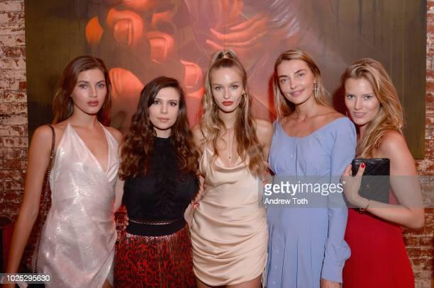Valery Kaufman Humans of Fashion CoFounders Antoniette Costa and Kristina Romanova Alina Baikova and Charlott Cordes attend Humans Of Fashion...