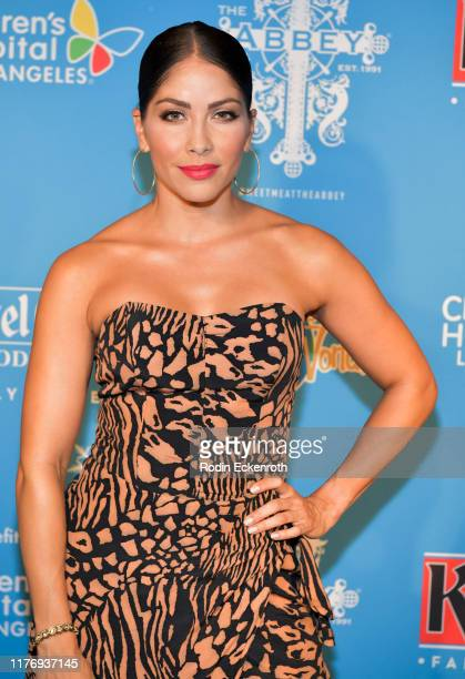 Valery Ortiz attends the Children's Hospital of Los Angeles Christmas In September Toy Drive at The Abbey on September 24 2019 in West Hollywood...