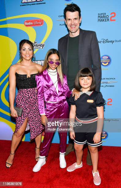 Valery Ortiz Kylie Cantrall Nathan Lovejoy and Coco Christo attend the 2019 Radio Disney Music Awards at CBS Studios Radford on June 16 2019 in...
