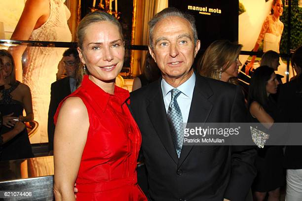 Valesca Guerrand Hermes and Alberto Palatchi attend Pronovias Commemorates the Opening of the NY Flagship Store with New Yorkers For Children at...