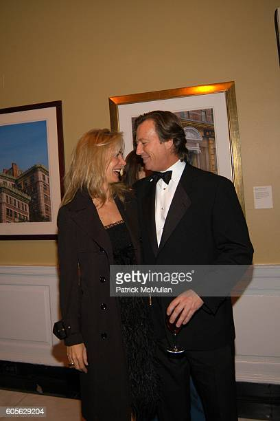 Valesca Guerrand Hermes and Bruce Colley attend The Museum of The City of New York The Directors Council 20th Annual Winter Ball at The Museum of The...