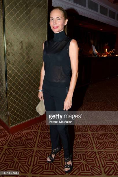 Valesca Guerrand Hermes attends Anne and Jay McInerney Host Cocktails to Celebrate Amanda Hearst and Ethical Fashion Company MAISONDEMODECOM at...
