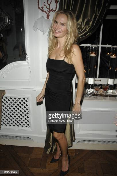 Valesca Guerrand Hermes attends ULLA KEVIN PARKER Hosts a James Bond Themed Cocktail Party at Private Residence on October 23 2009 in New York City