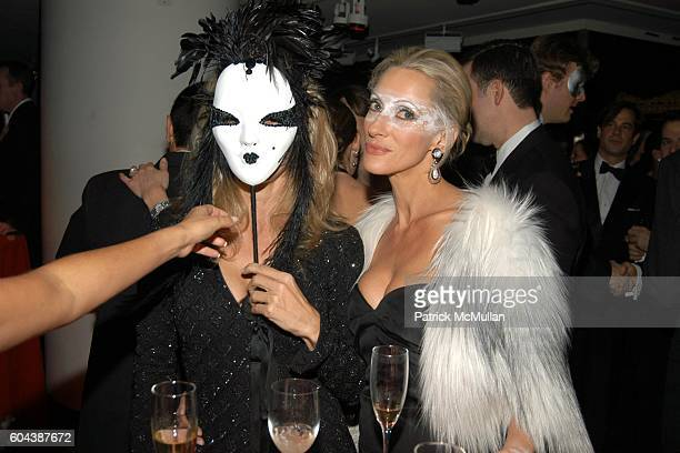 Valesca GuerrandHermes and Jackie Astier attend CHRISTIE'S BLACK and WHITE BALL To Celebrate The Plaza Hotel Auction at Christie's on March 14 2006...