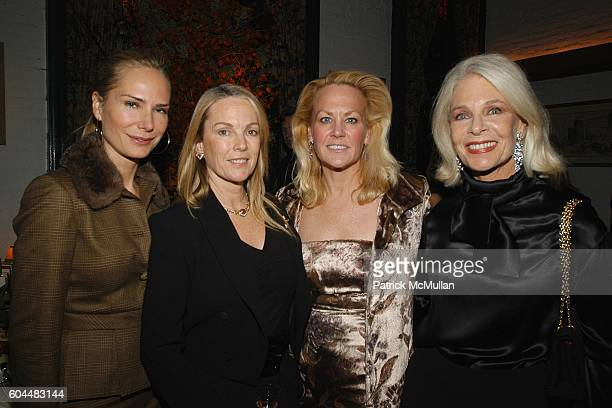 Valesca GuerrandHermes Anne Hearst Muffie Potter Aston and Frances Hayward attend Engagement Dinner for JAY MCINERNEY and ANNE HEARST hosted by...