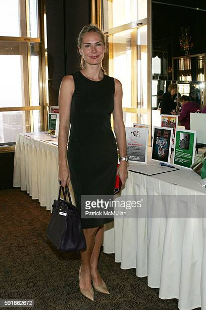 Valesca GuerrandHermes attends God's Love We Deliver Holiday Catalog Shopping Luncheon at The Rainbow Room on November 30 2005 in New York City