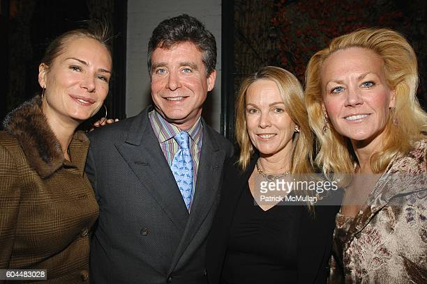 Valesca GuerrandHermes Jay McInerney Anne Hearst and Muffie Potter Aston attend Engagement Dinner for JAY MCINERNEY and ANNE HEARST hosted by GEORGE...