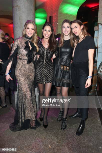 Valesca von Hodenberg Dagmar Koegel Alana Siegel Simon Rechenauer during the BUNTE BMW Festival Night 2018 on the occasion of the 68th Berlinale...