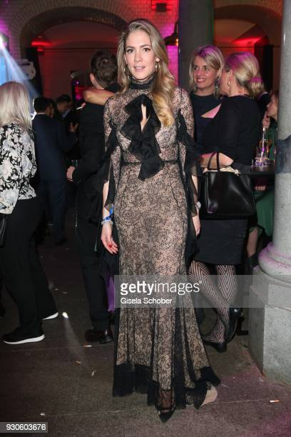 Valesca von Hodenberg during the BUNTE BMW Festival Night 2018 on the occasion of the 68th Berlinale International Film Festival Berlin at Restaurant...