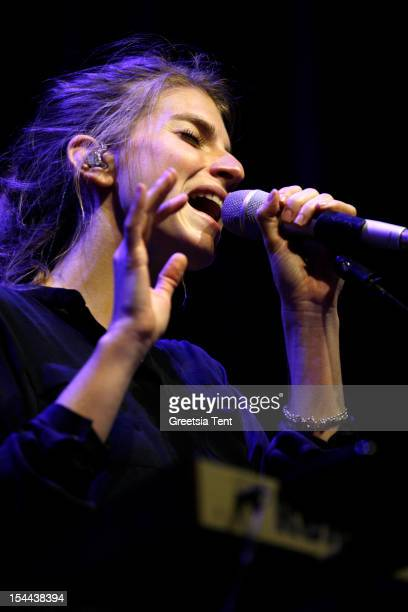 Valeska Steiner of Boy performs supporting Katie Melua at Heineken Music Hall on October 19 2012 in Amsterdam Netherlands