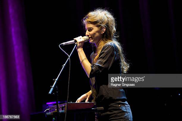 Valeska Steiner of Boy supporting Katie Melua at Folketeateret on November 20 2012 in Oslo Norway