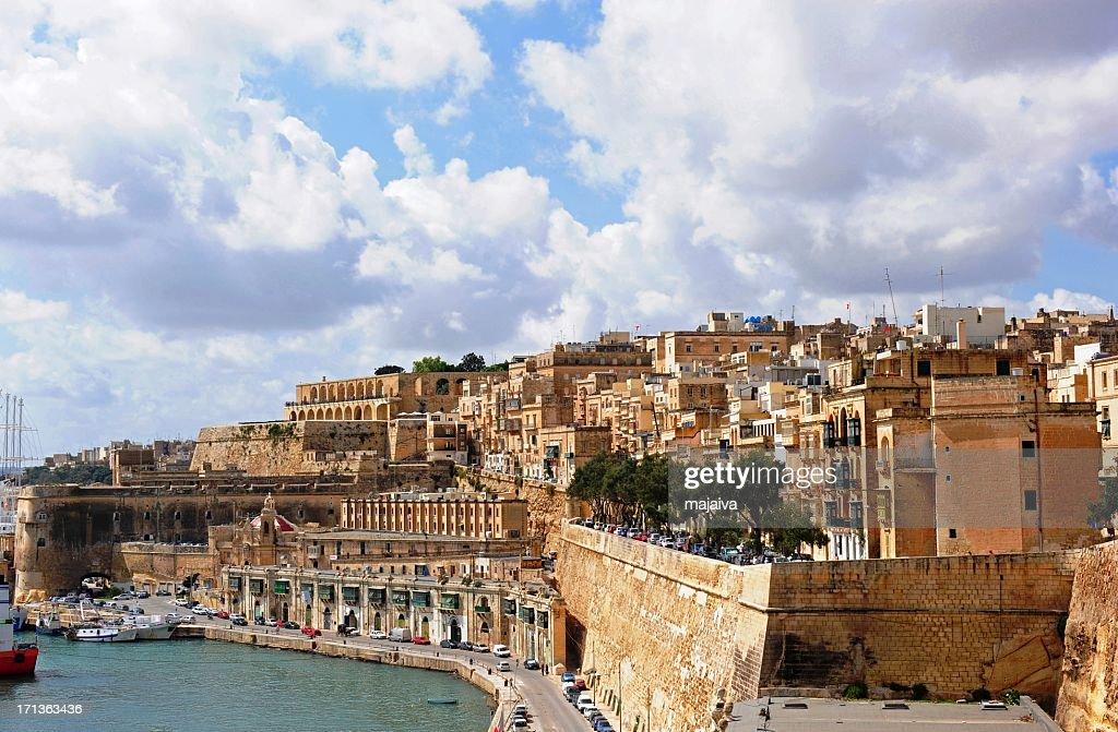 Valetta cityscape : Stock Photo