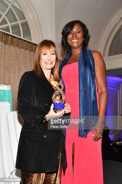 Valhalla Entertainment Film Producer Gale Anne Hurd and President LaRonda Sutton attends the '2018 Annual Women In Film Television Gala' at 103 West...