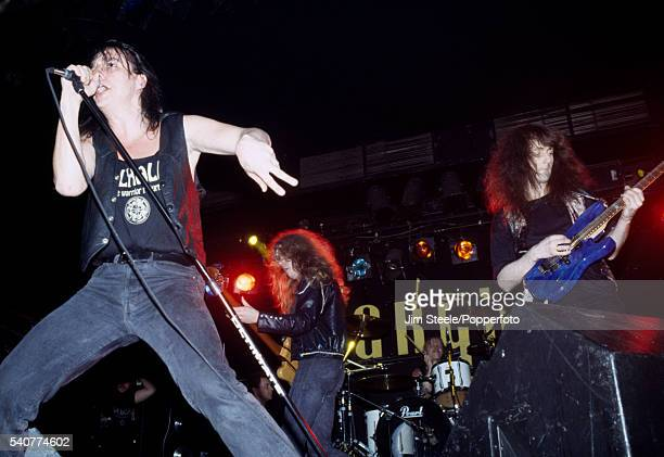 Valhalla performing on stage circa 1990