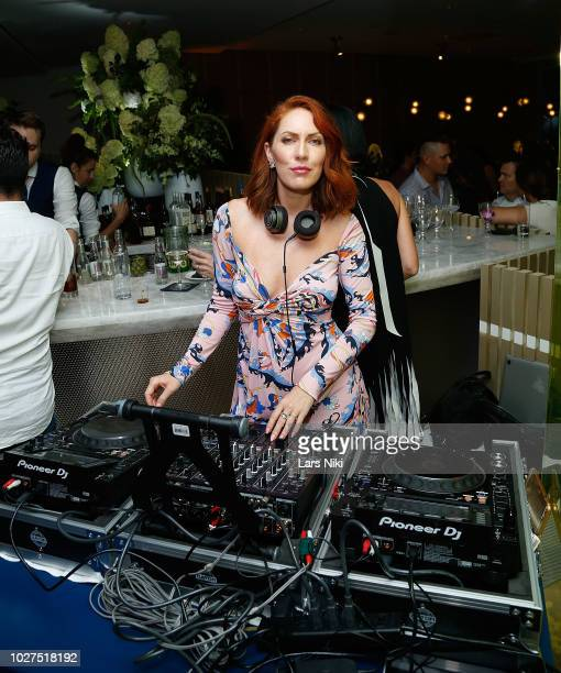 Valissa Yoe attends the Bluebird London New York City launch party at Bluebird London on September 5 2018 in New York City