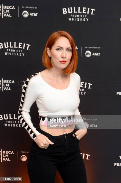 Valissa Yoe attends the Plus One Premiere After Party at the Bulleit 3D printed Frontier Lounge during Tribeca Film Festival on April 28 2019 in New...