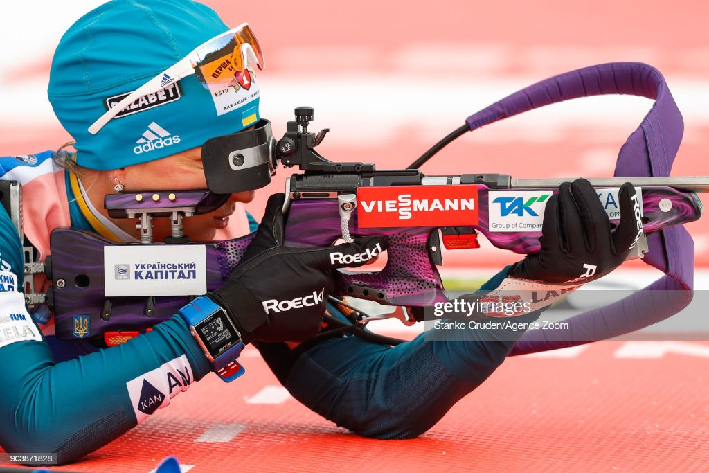 IBU Biathlon World Cup - Women's Individual : News Photo
