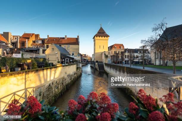 valkenburg city, netherlands - オランダ リンブルフ州 ストックフォトと画像