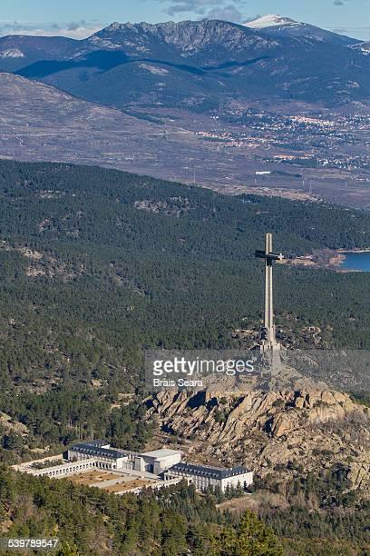 valle de los caidos - francisco franco fotografías e imágenes de stock