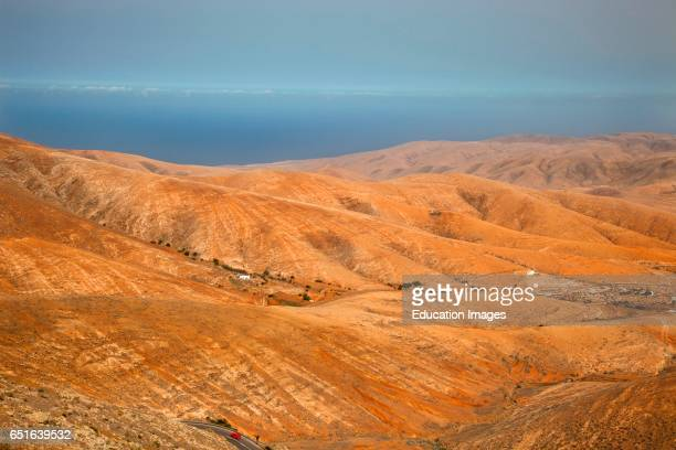 Valle De Santa Ines Area. Fuerteventura. Canarie.