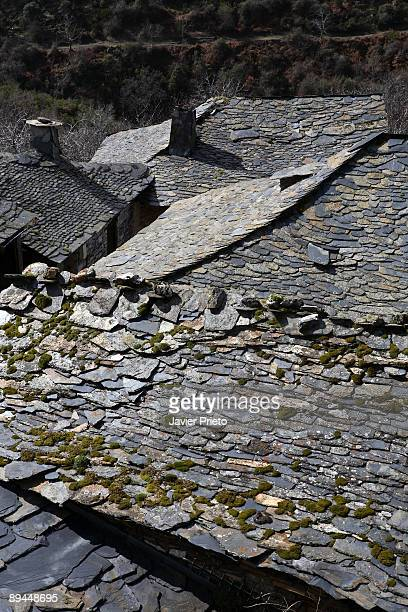 Valle de Silencio El Bierzo Leon Tiled roof Penalba de Santiago Montes Aquilanos El Bierzo The valley shaped by water and ice is spectacular It has...