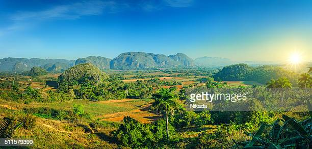 valle de vinales national park, cuba - pinar del rio stock photos and pictures