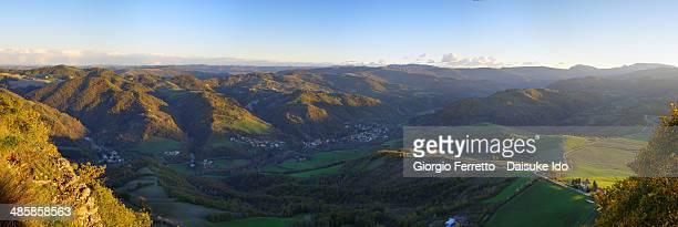 Valle dell'Idice dal Monte delle Formiche