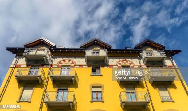 valle vigezzo - edificio residenziale ストックフォトと画像