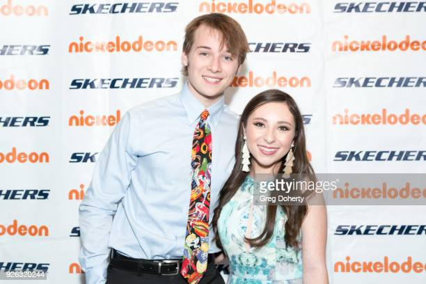 Valleroy and Ava Cantrell attend the 9th Annual SKECHERS Pier To Pier Friendship Walk Evening Of Celebration And Check Presentation at Shade Hotel on...