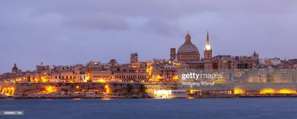 Valletta Cityscape : Stock-Foto