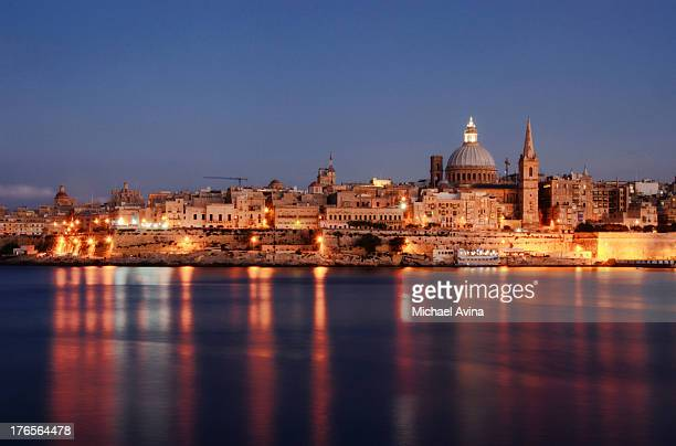 valletta, malta - valletta stock pictures, royalty-free photos & images