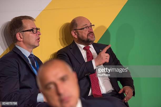 Valletta, Malta.12/11/15: European Parliament President Martin Schultz At the two-day Malta summit,which will build on existing cooperation processes...