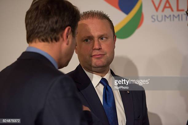 Valletta, Malta.12/11/15: Maltese Prime Minister Joseph Muscat At the two-day Malta summit,which will build on existing cooperation processes between...
