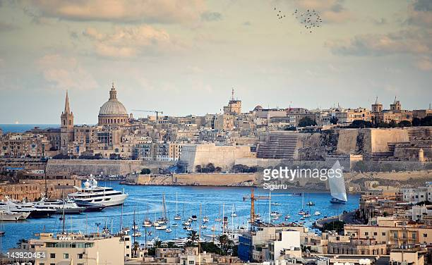 valletta - valletta stock pictures, royalty-free photos & images