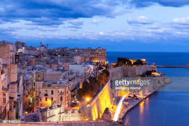 valletta - wolfgang wörndl stock pictures, royalty-free photos & images