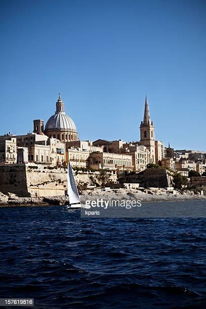 Valletta Skyline from Harbour