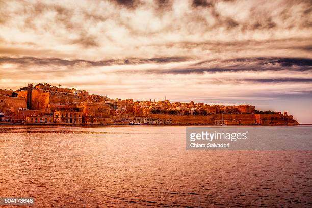 Valletta view from Senglea, Malta