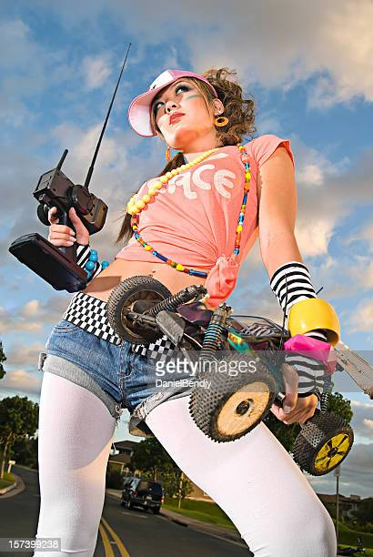 valley girl - remote controlled stock photos and pictures
