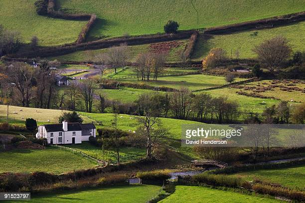valley, north exmoor - lynton stock pictures, royalty-free photos & images